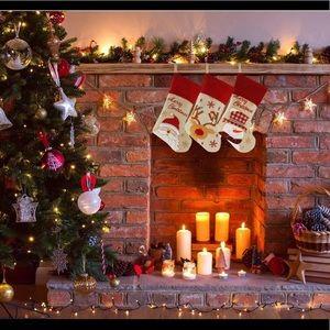 Set of 3 Christmas Stockings